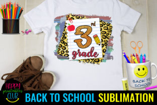 Third Grade Back to School Sublimation D Graphic Crafts By Happy Printables Club