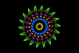 Print on Demand: Beautiful Mandalas for Blankets Graphic Quilt Patterns By Dhuhayu