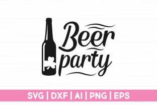 Print on Demand: Beer Party Graphic Crafts By CraftartSVG