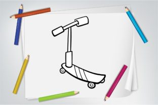 Coloring Cute Transportation Graphic Coloring Pages & Books Kids By blitzprofit