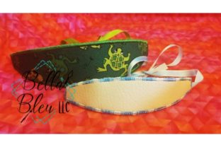 Headband Accessories Embroidery Design By Bella Bleu Embroidery