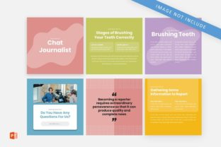 Instagram Feed Coaching Chat Journalist Graphic Graphic Templates By 57creative