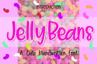 Print on Demand: Jelly Beans Display Font By GoodMoodType