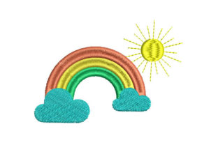 Rainbow Babies & Kids Embroidery Design By Embroiderypacks