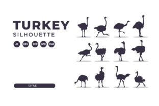 Silhouettes of Turkey Collection Graphic Illustrations By Role Graphic