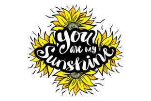 You Are My Sunshine Hand Lettering. Graphic Crafts By han.dhini