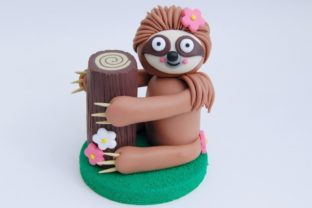 Create Your Own Sloth Ornament with Polymer Clay Classes By claydisarray