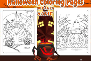 Print on Demand: Halloween Coloring Page for Kids - KDP Graphic Coloring Pages & Books Kids By J U M P