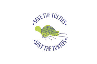 Save the Turtles Awareness Craft Cut File By Creative Fabrica Crafts