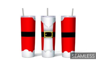 Christmas Tumbler Sublimation Graphic Print Templates By SvgOcean 2