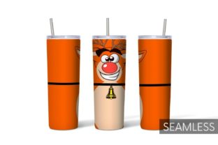 Christmas Tumbler Sublimation Graphic Print Templates By SvgOcean 4