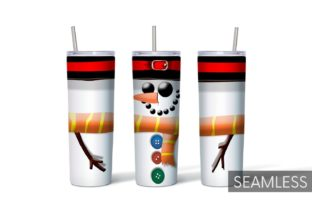 Christmas Tumbler Sublimation Graphic Print Templates By SvgOcean 8
