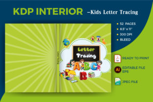 Print on Demand: Letter Tracing for Kids -KDP Interior Graphic Teaching Materials By Graphicsaiful