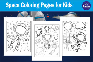 Space Coloring Book for Kids Kdp Interio Graphic Coloring Pages & Books Kids By mdrakibul1n1a