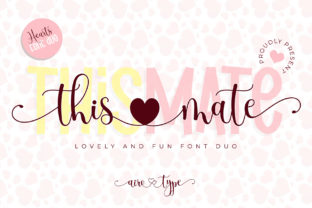 Print on Demand: This Mate Script & Handwritten Font By airotype 1