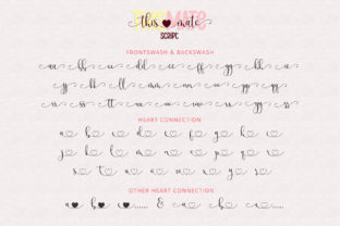 Print on Demand: This Mate Script & Handwritten Font By airotype 10