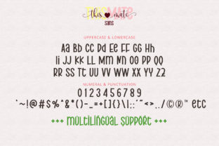 Print on Demand: This Mate Script & Handwritten Font By airotype 11