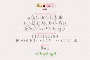 Print on Demand: This Mate Script & Handwritten Font By airotype 9