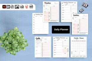 Print on Demand: 2022 Daily Planner KDP & Print Ready Graphic KDP Interiors By DigitalMGoods 1