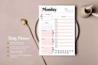 Print on Demand: 2022 Daily Planner KDP & Print Ready Graphic KDP Interiors By DigitalMGoods 4