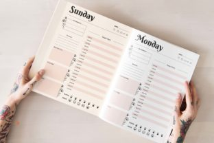 Print on Demand: 2022 Daily Planner KDP & Print Ready Graphic KDP Interiors By DigitalMGoods 5