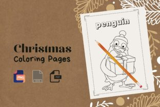 Print on Demand: Christmas Coloring Pages Best for KDP Graphic Coloring Pages & Books Kids By DigitalMGoods
