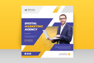 Digital Business Marketing Banner Graphic Graphic Templates By tajulislam12