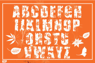 Print on Demand: Fall Decorative Font By KtwoP 2