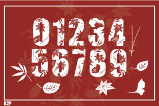 Print on Demand: Fall Decorative Font By KtwoP 3