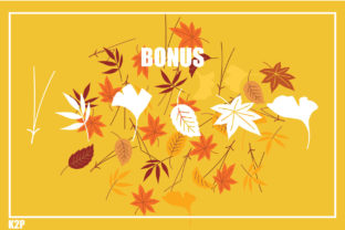 Print on Demand: Fall Decorative Font By KtwoP 5