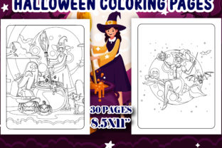 Print on Demand: Halloween Coloring Book for Kids - KDP Graphic Coloring Pages & Books Kids By J U M P