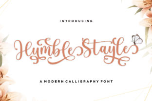 Print on Demand: Humble Stayle Script & Handwritten Font By Romie Creative