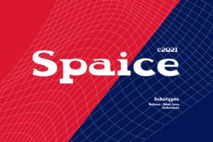 Print on Demand: Spaice Display Font By inkstypia