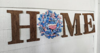 Make a Rag Wreath for Any Occasion