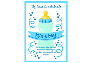 Baby Shower Invitation Template Baby Craft Cut File By Creative Fabrica Crafts