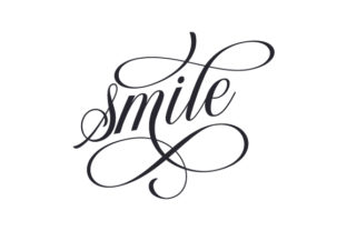 Smile Quotes Craft Cut File By Creative Fabrica Crafts