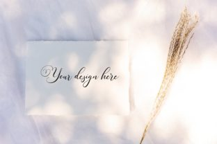 7x5 Wedding Card Mockup. Greeting Card. Graphic Product Mockups By OK-Design