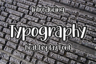 Print on Demand: Typography Display Font By el hotcig