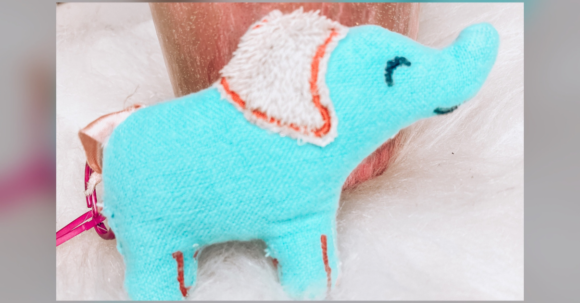 Special Embroidered Elephant Plush