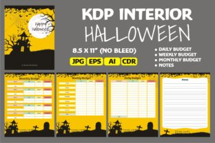 Print on Demand: Halloween Daily, Weekly, Monthly Budget Graphic KDP Interiors By edywiyonopp