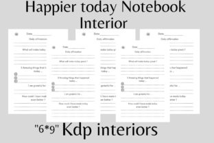 Kdp Interiors Happier Today Notebook Graphic KDP Interiors By flovin design