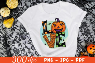 Love | Halloween Sublimation Design PNG Graphic Crafts By CraftlabSVG