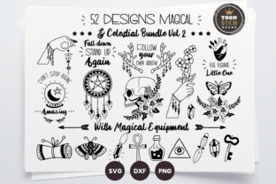Print on Demand: Magical & Celestial Bundle Vol2 Graphic Graphic Templates By toonsteb