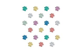 Paw Print Cats Embroidery Design By Embroidery Designs