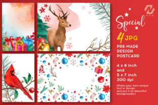 Print on Demand: Christmas Watercolor Elements Graphics Graphic Illustrations By nesdigiart 8