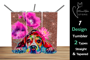 Dog 20oz Skinny Tumbler Sublimation Graphic Graphic Templates By Ranotopia Store