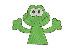 Frog Animals Embroidery Design By Embroiderypacks