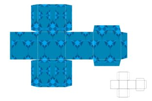 Print on Demand: Gift Box Wrapping Pattern Theme Graphic Crafts By Arief Sapta Adjie