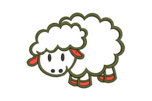Sheep Farm Animals Embroidery Design By Embroiderypacks