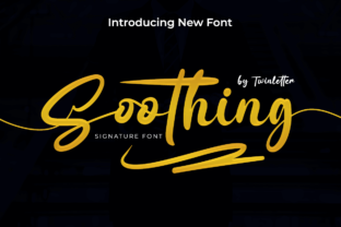 Print on Demand: Soothing Script & Handwritten Font By twinletter